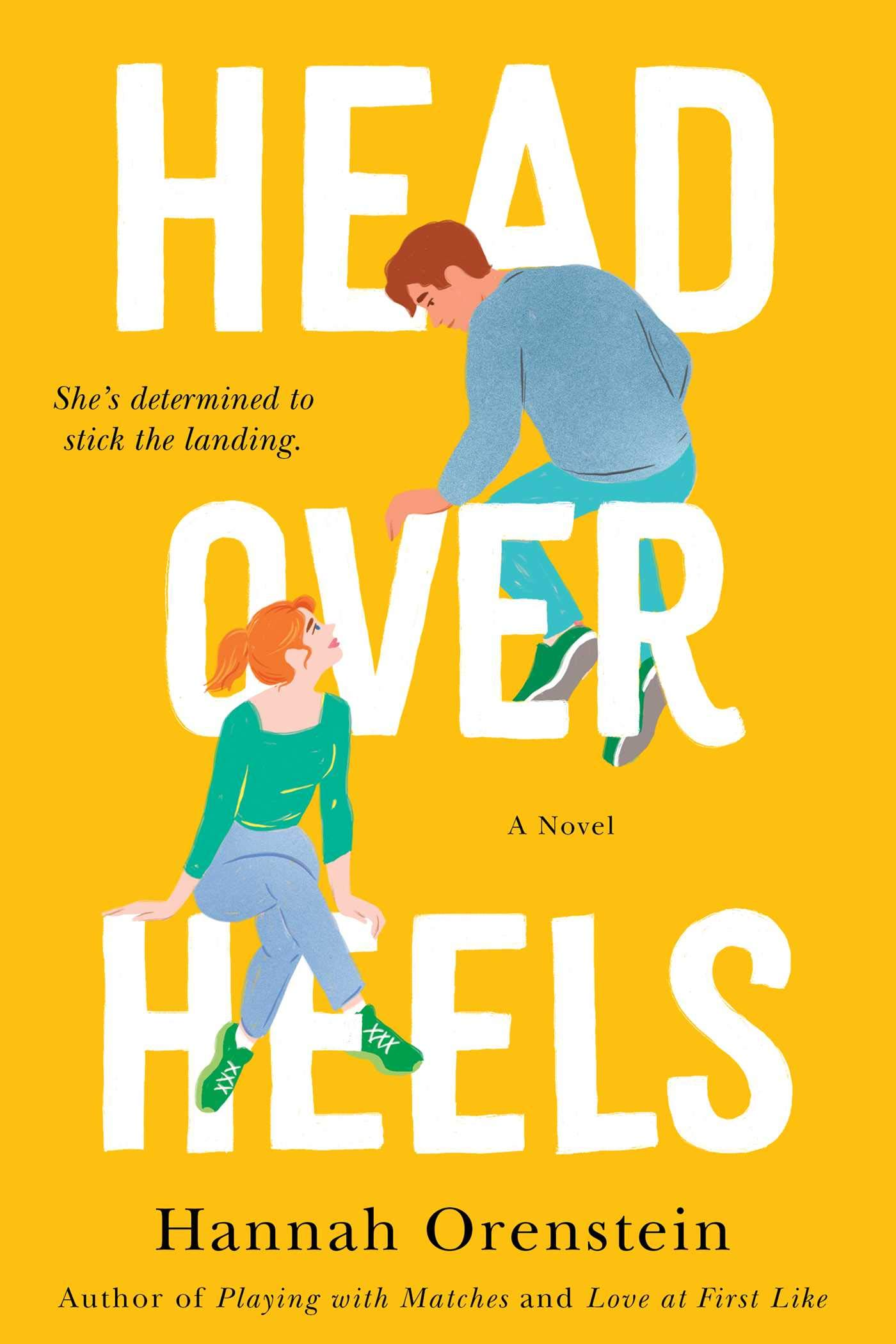 Head Over Heels by Hannah Orenstein cover for Vacation Books