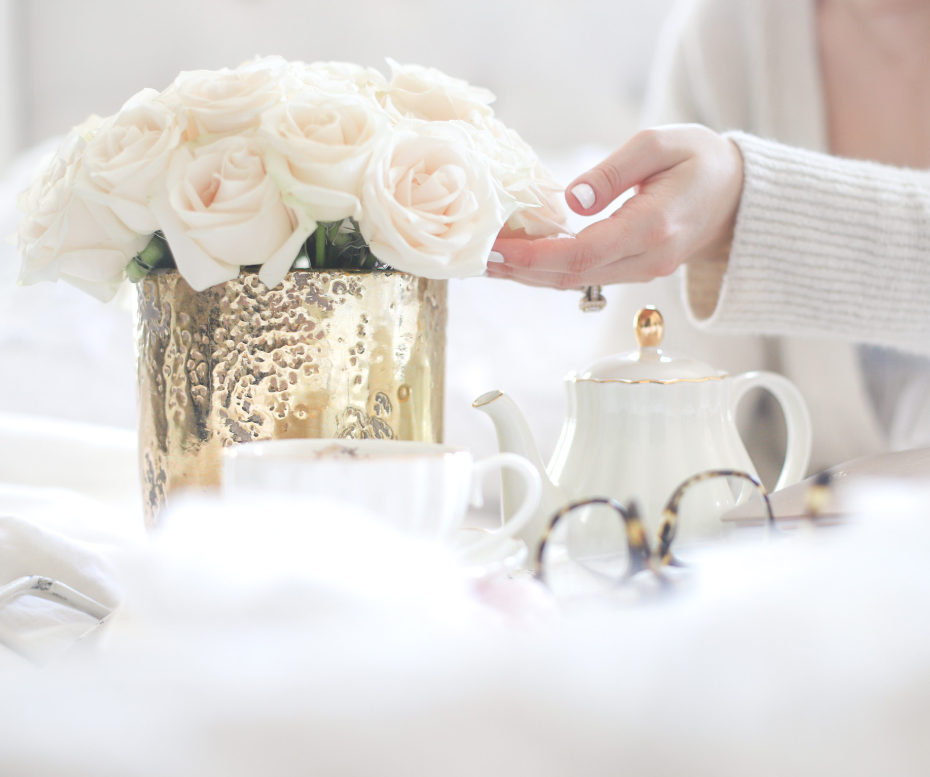 Little Loves Notes, Weekend Packing, Roses and Tea - GLITTERINC.COM