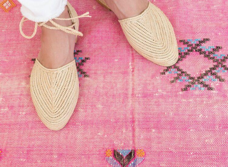 Weekly Finds + Raffia Ankle Strap Slipper Sandals