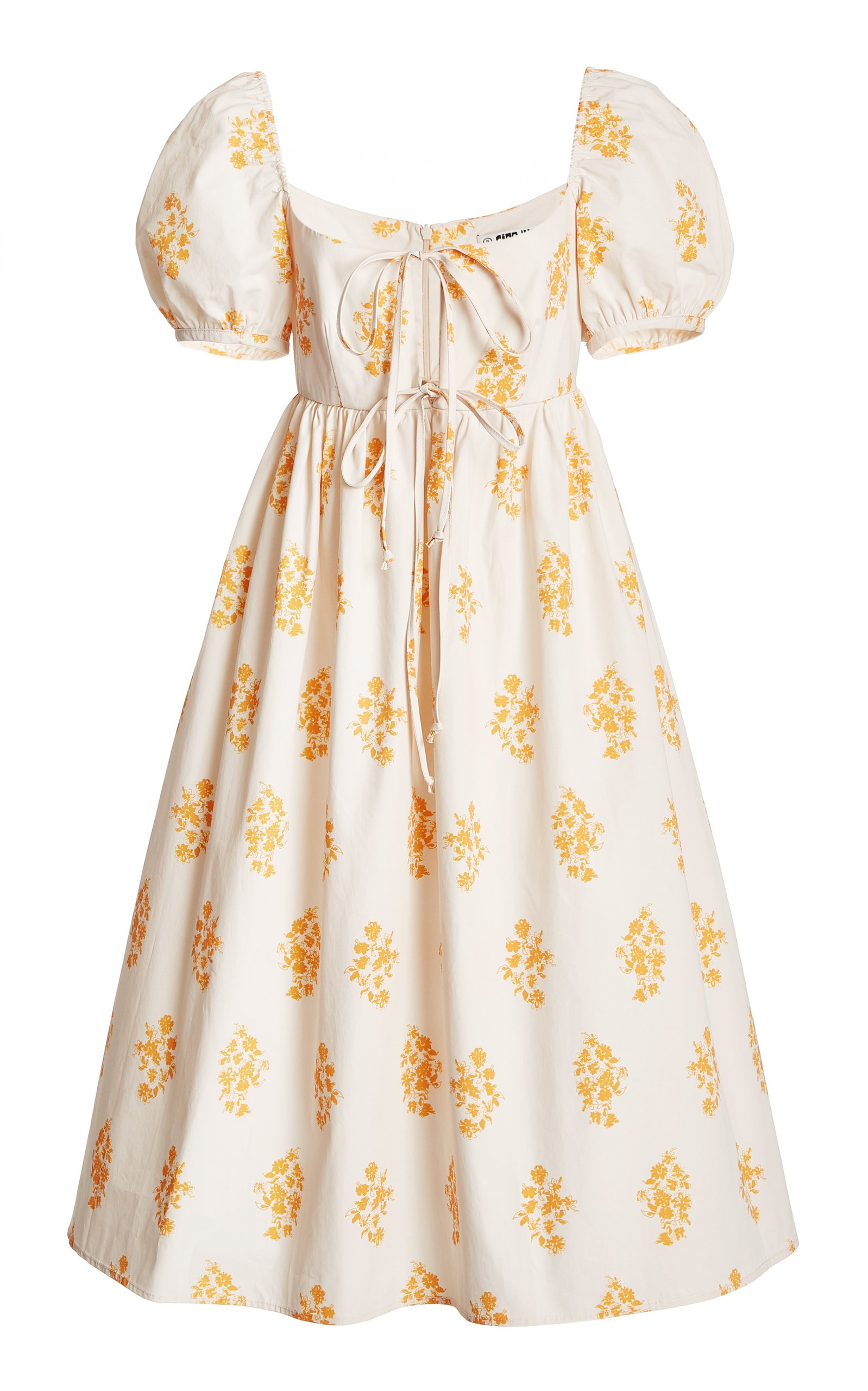 Ciao Lucia Alessia Printed Cotton Poplin Midi Dress