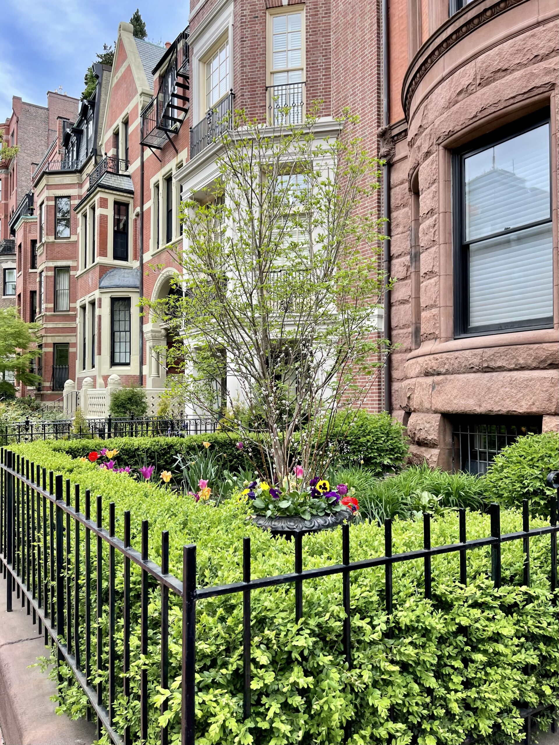 Back Bay homes and gardens Mother's Day Weekend Plans
