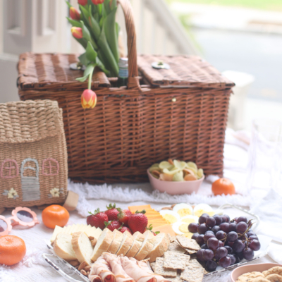 A Simple Porch Picnic and Snack Charcuterie Board