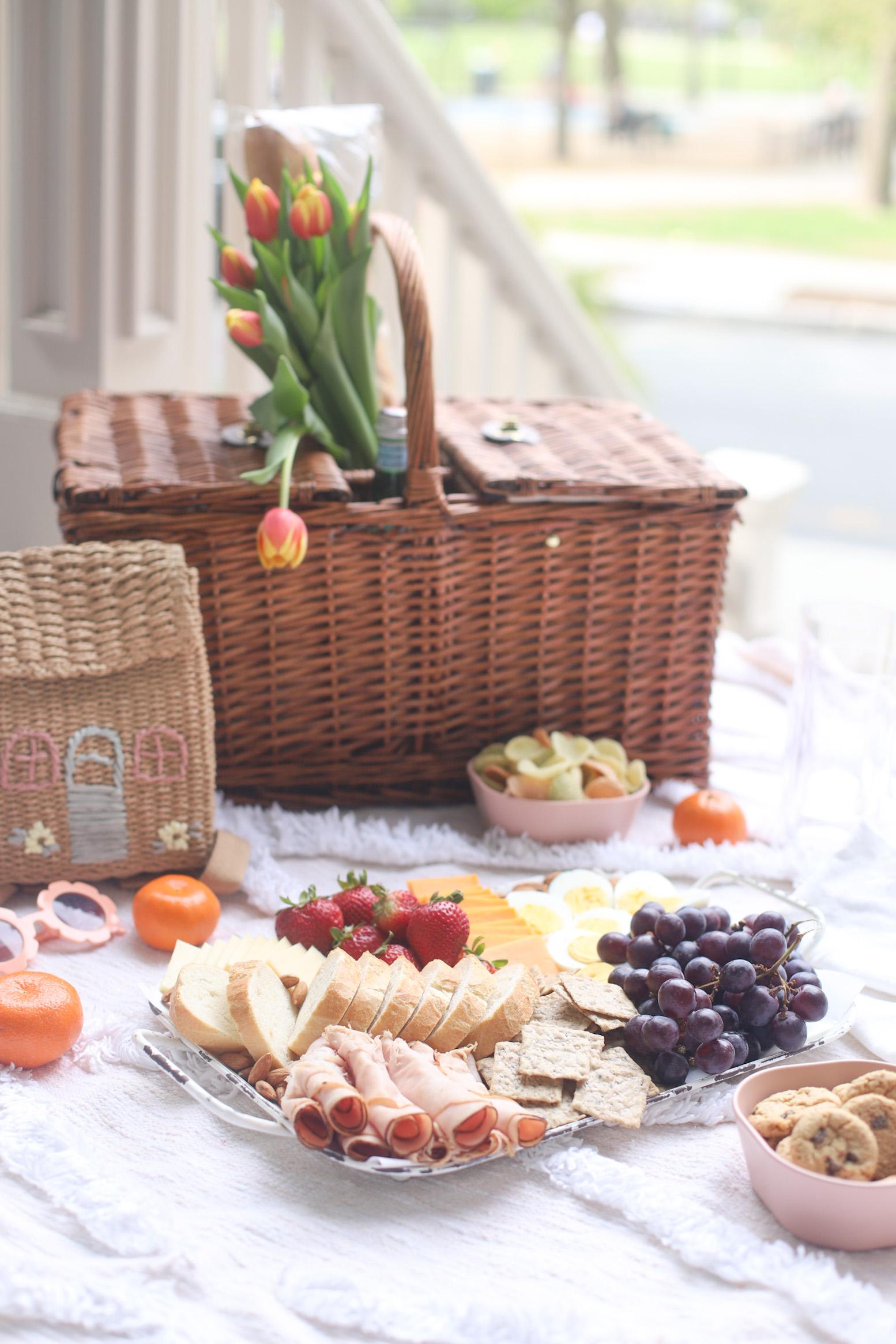A Simple Porch Picnic and Snack Charcuterie Board