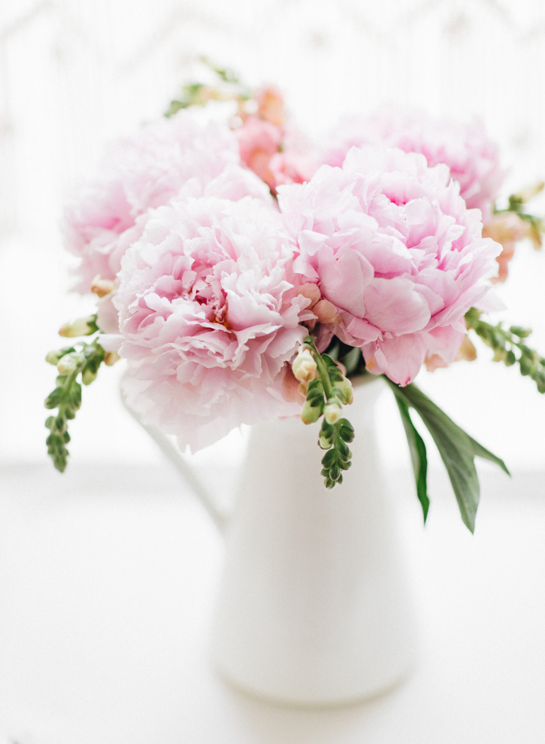 white Vases Under $20 with flowers