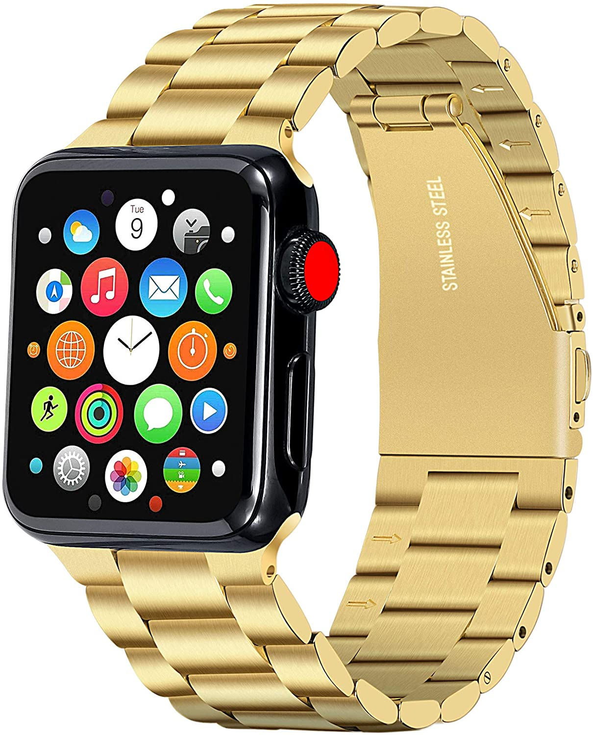 Gold Apple Watch Band