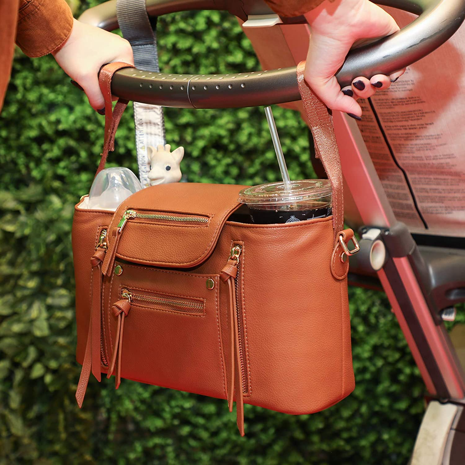 Miss Fong Stroller Organizer with Insulated Cup Holders for weekly finds