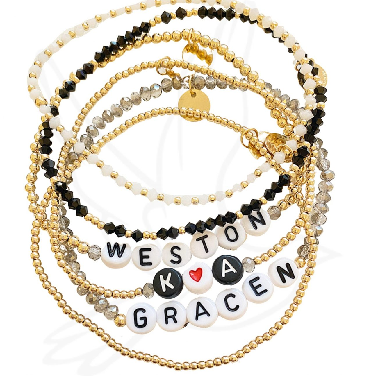 Customizable Wrist Reminders Bracelets