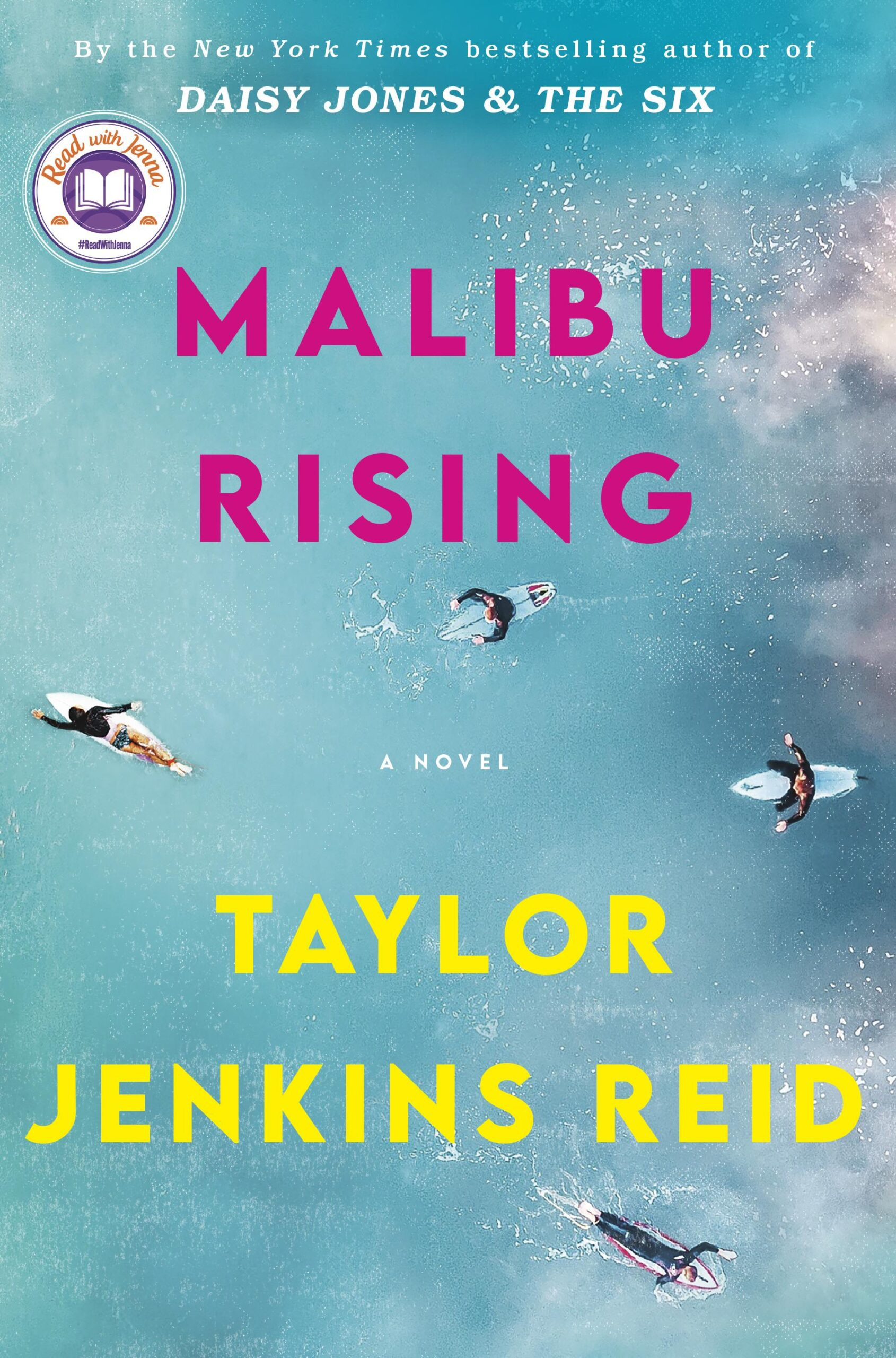Malibu Rising by Taylor Jenkins Reid book