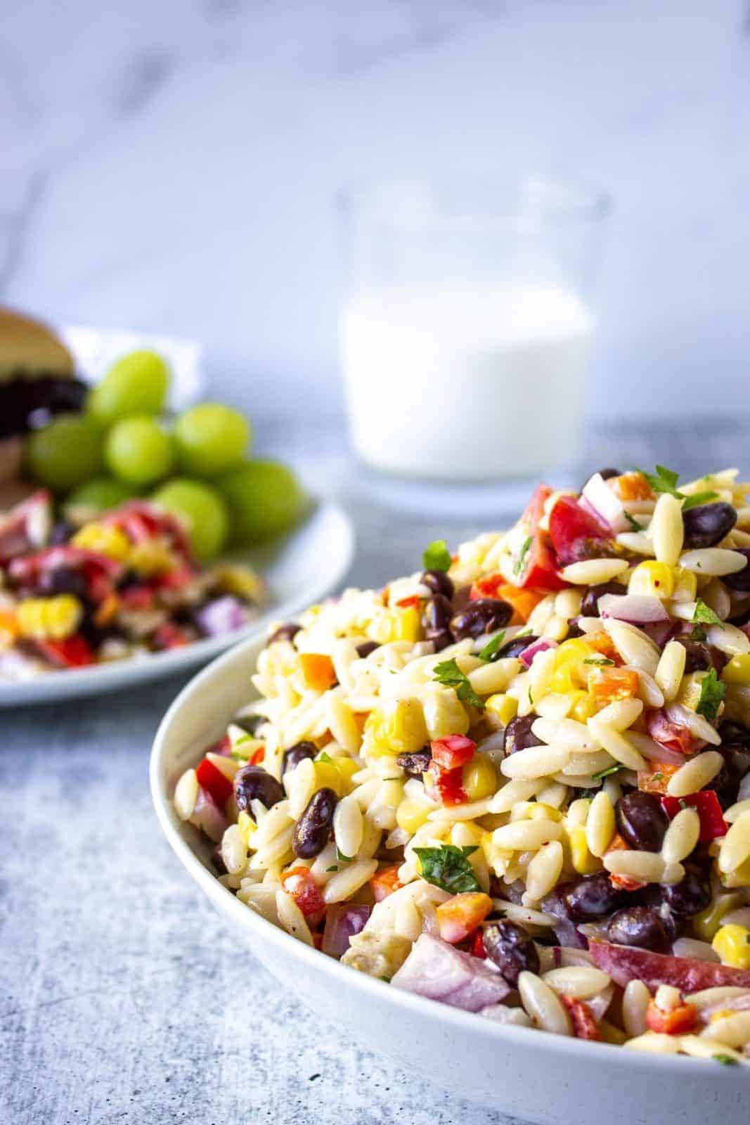 Orzo Summer Pasta Salad Recipes