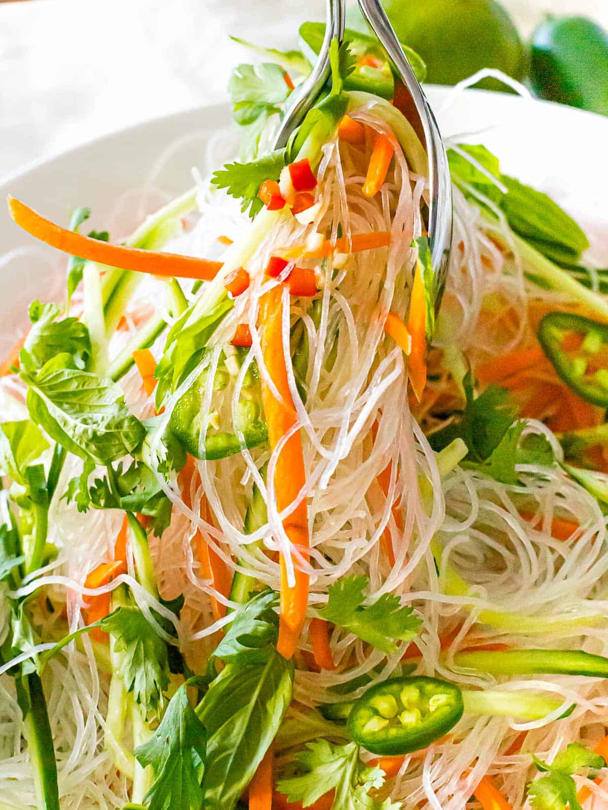 Quick and Easy Vietnamese Noodle Salad