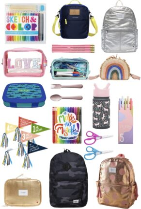 It's almost time for the kids to head back to school! Looking for the best school accessories? Sharing the cutest school supplies, perfect for helping your little ones get excited about the year ahead!