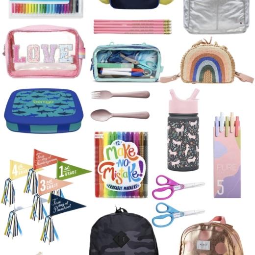 Back to School - The Cutest Kids School Supplies