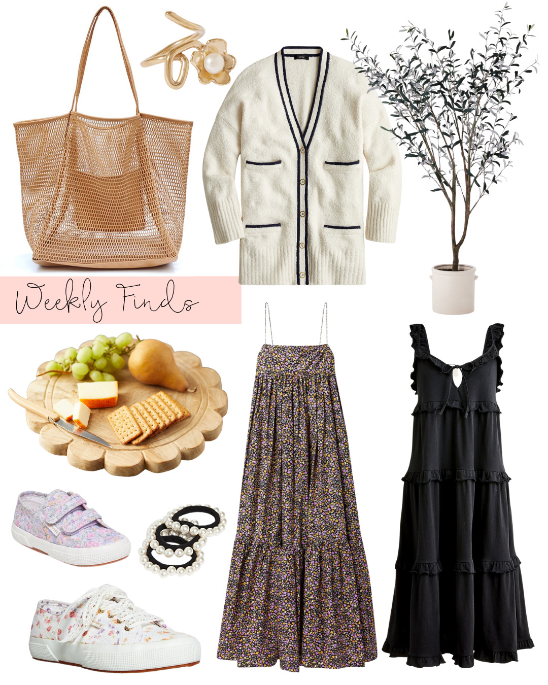 Weekly Finds + The Chicest Under $25 Beach Bag - GLITTERINC.COM