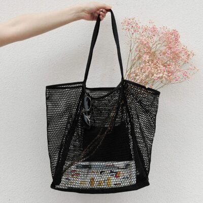 Weekly Finds Including This Super Affordable Hoxis Mesh Beach Tote Shoulder Handbag