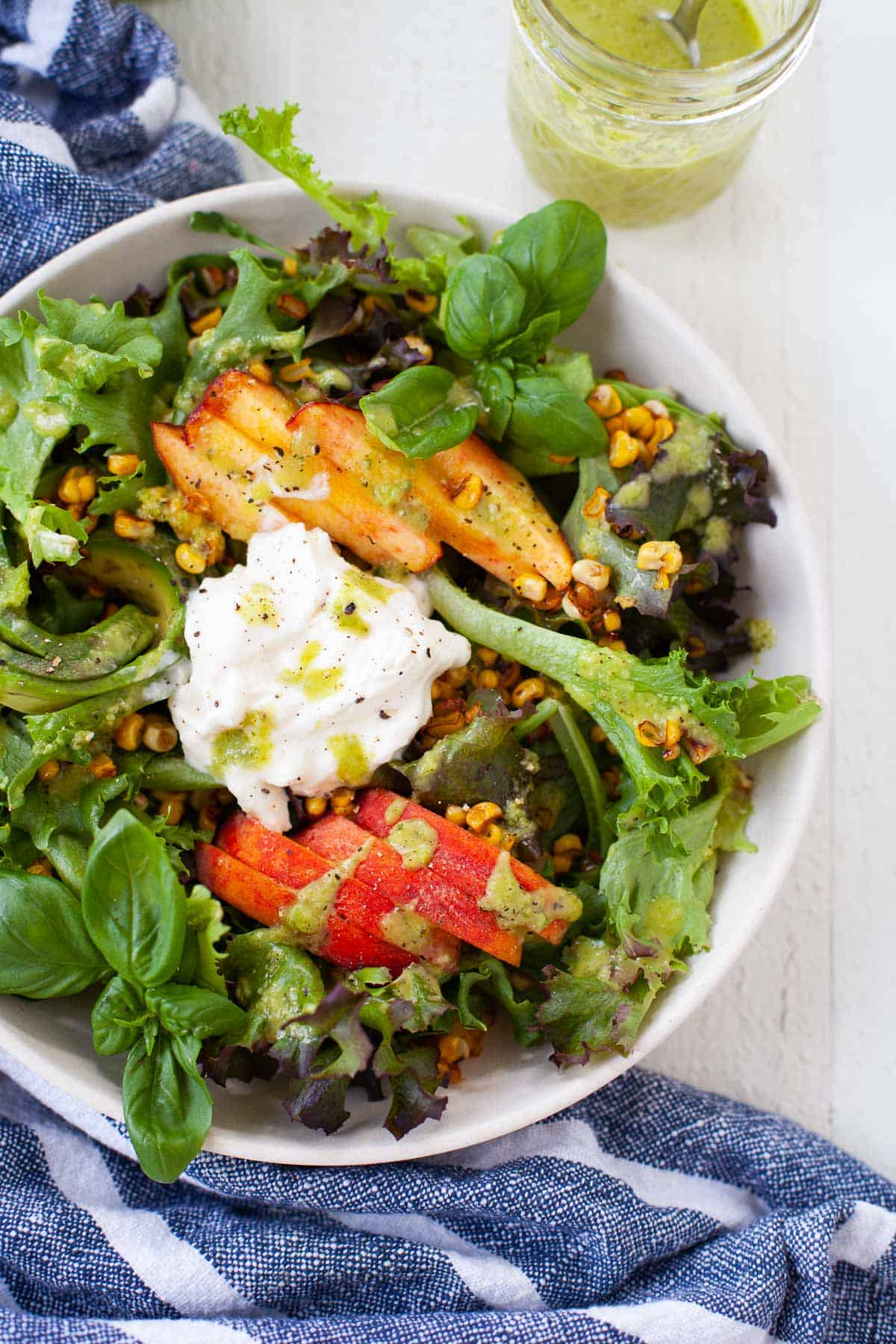 Summer Peach and Corn Salad for Incredible Summer Salad Recipes