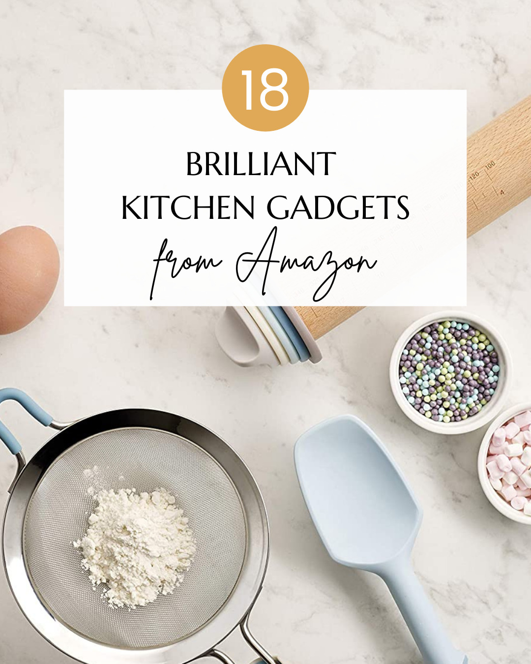 18 Amazingly Useful Amazon Kitchen Gadgets- Cooking and Baking Essentials to Make Life Easier -   @glitterinclexi   GLITTERINC.COM