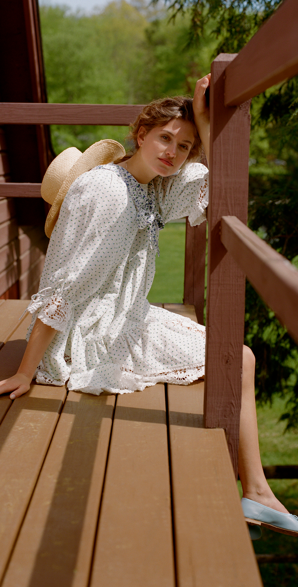 woman wearing byTiMo Linen Mini Dress for Late Summer Dresses