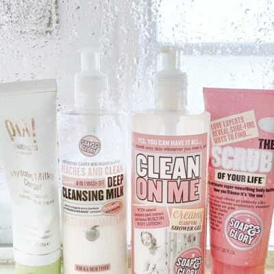 My Current Favorite Affordable Shower Scrub, Cleansers, and Body Wash - GLITTERINC.COM