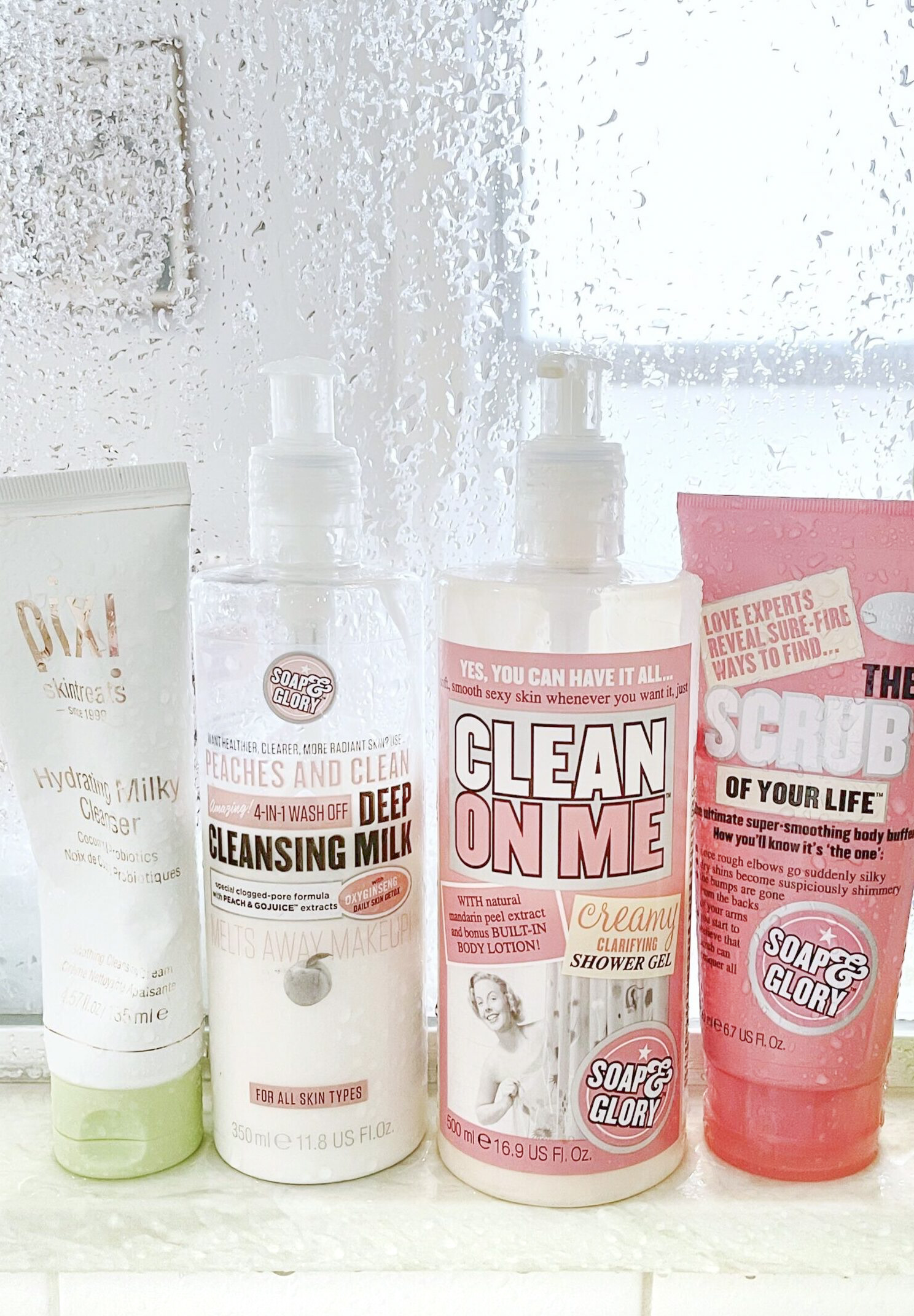 My Current Favorite Affordable Shower Scrub, Cleansers, and Body Wash