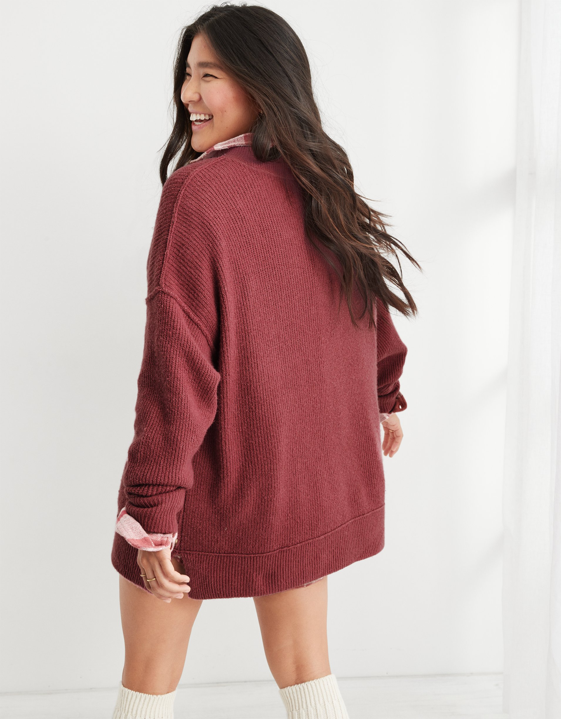 Aerie CozyUp Ribbed Favorite Fall Sweaters