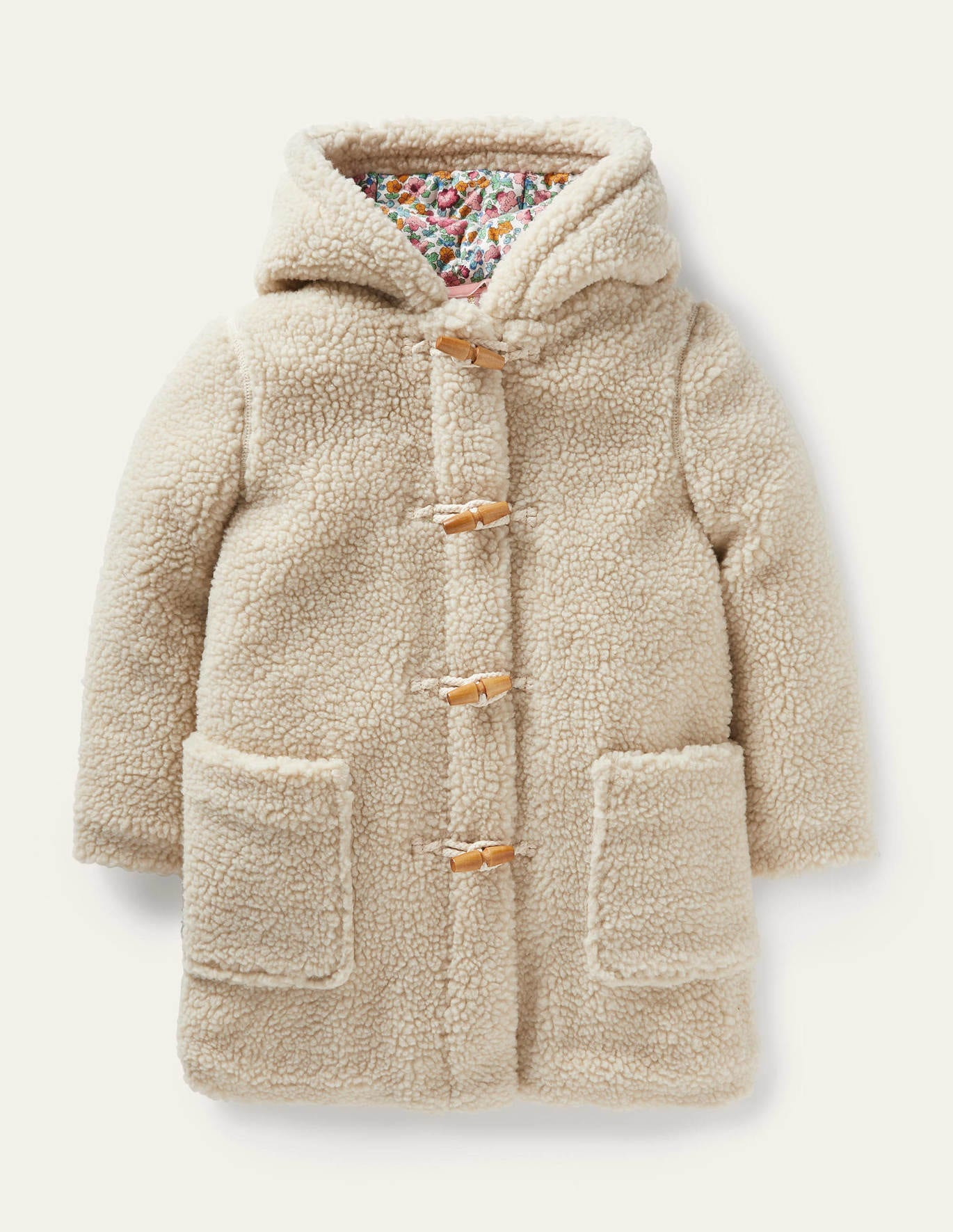 Boden Cosy Borg Duffle Coat  Favorite Fall Sweaters