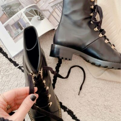 Weekly Finds + The Gold Lace-Up Combat Boots I'm Obsessed With