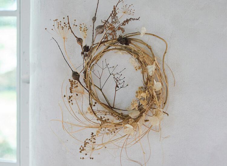 My Current Favorite Fall Home Décor for the Season - Ashn Earth Textured Neutrals Wreath