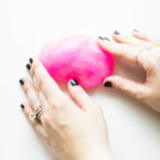 How to Make 3-Ingredient Glitter Slime