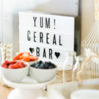 How to Put Together a DIY Retro Cereal Bar