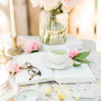 A Whimsical Outdoor Spring Tea and Dessert Party